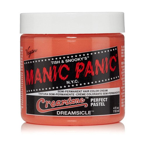 FARBA MANIC PANIC- CREAMTONES PASTEL HAIR COLOR DREAMSICLE