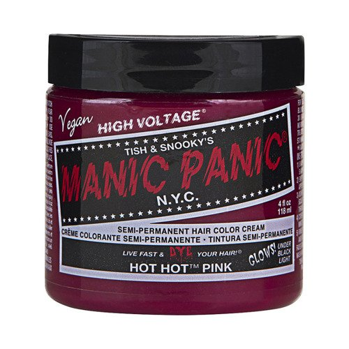 FARBA MANIC PANIC- HIGH VOLTAGE HAIR COLOR HOT HOT PINK