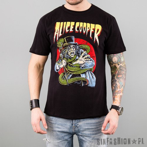 KOSZULKA AMPLIFIED - ALICE COOPER SNAKE