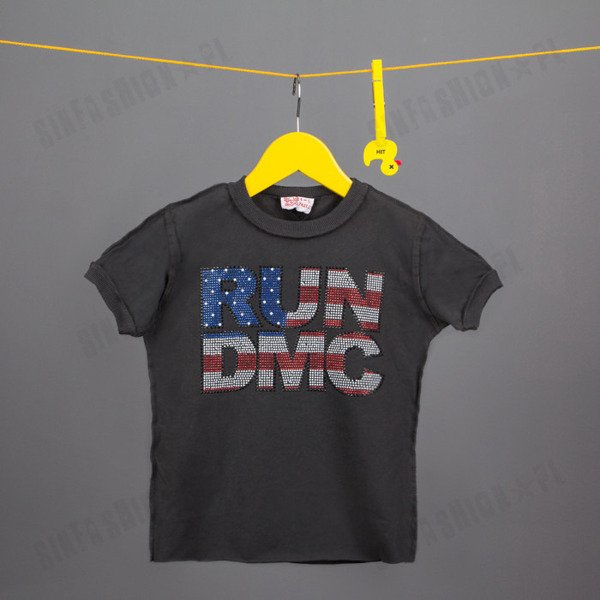 KOSZULKA AMPLIFIED -RUN DMC FLAG DMNTE CC