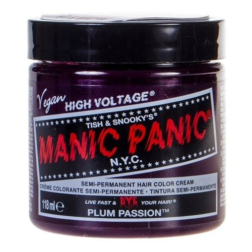 FARBA MANIC PANIC- HIGH VOLTAGE HAIR COLOR PLUM PASSION