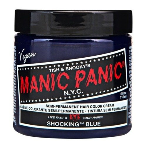 FARBA MANIC PANIC- HIGH VOLTAGE HAIR COLOR SHOCKING BLUE