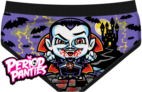 MAJTKI PERIOD PANTIES - CUNT DRACULA BRIEF