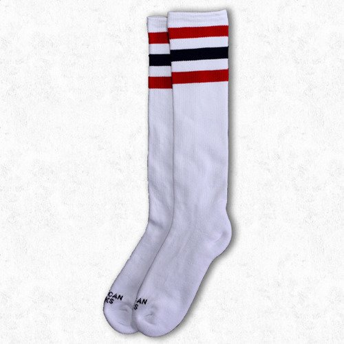 Skarpetki American Socks Knee High Teen Anarhist