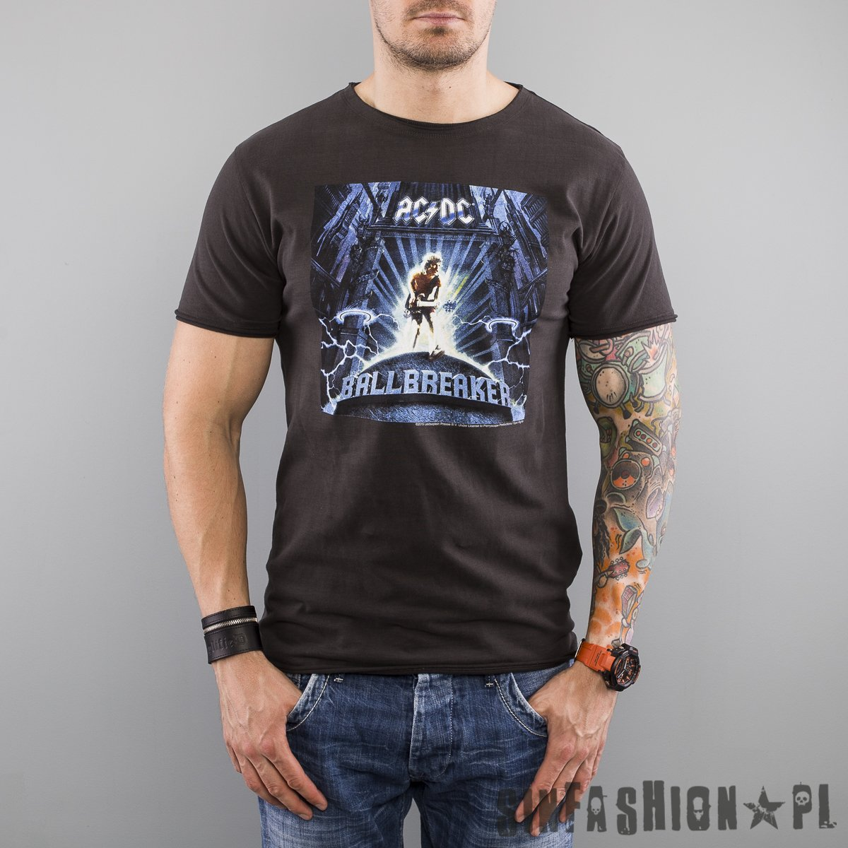 5d0c2febc KOSZULKA AMPLIFIED AC/DC BALLBREAKER | Mężczyźni \ Koszulki \ Krótki ...