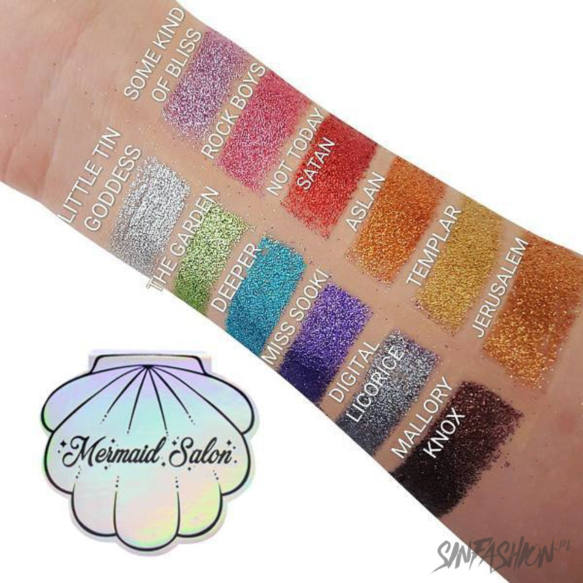 Cienie Mermaid Salon Witching Hour Chrome Flex Seashell