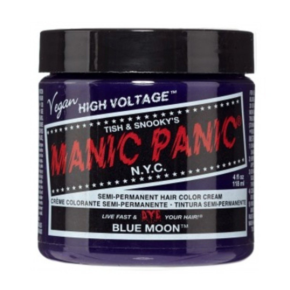 FARBA MANIC PANIC- HIGH VOLTAGE HAIR COLOR BLUE MOON