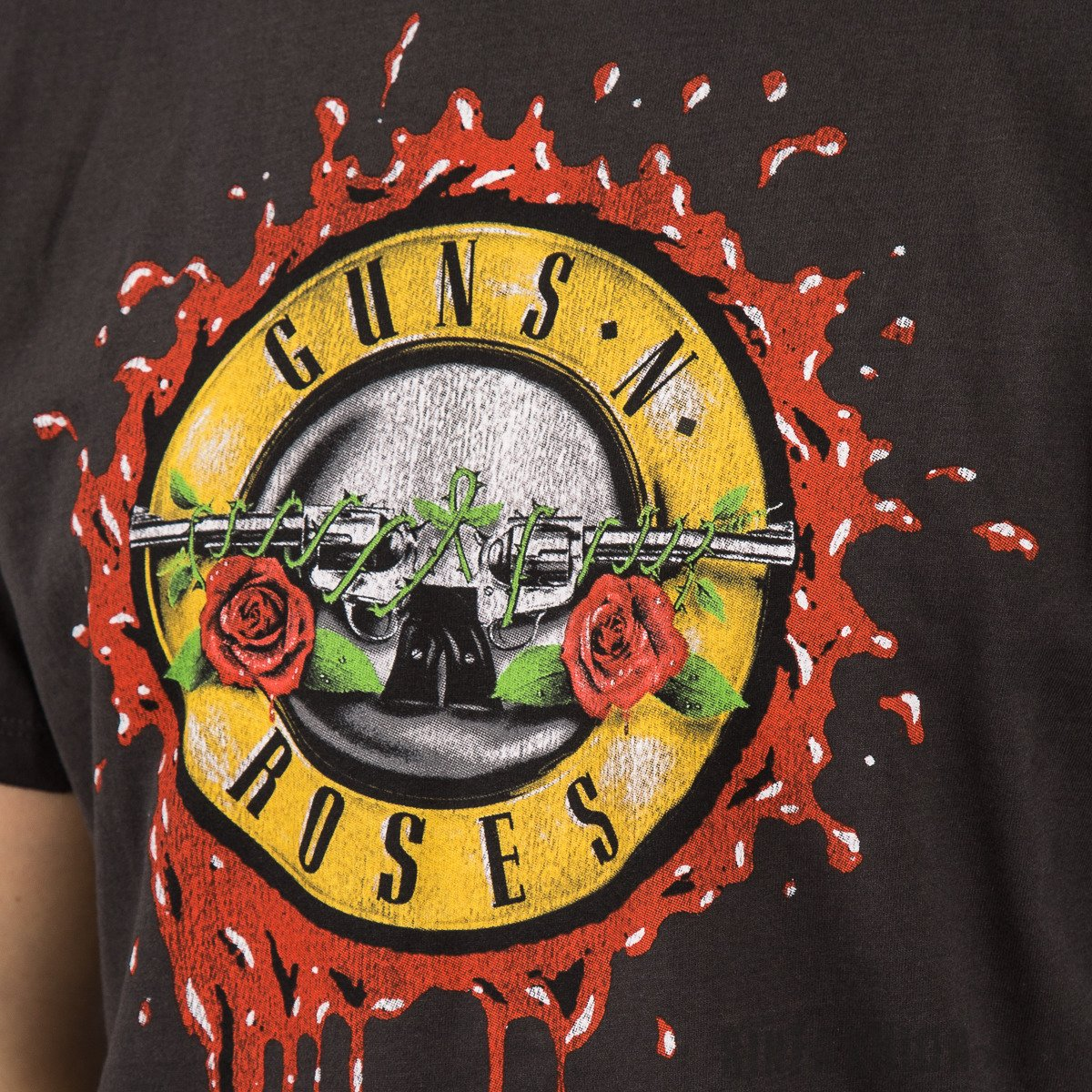 KOSZULKA AMPLIFIED GUNS N ROSES BLOODY BULLET