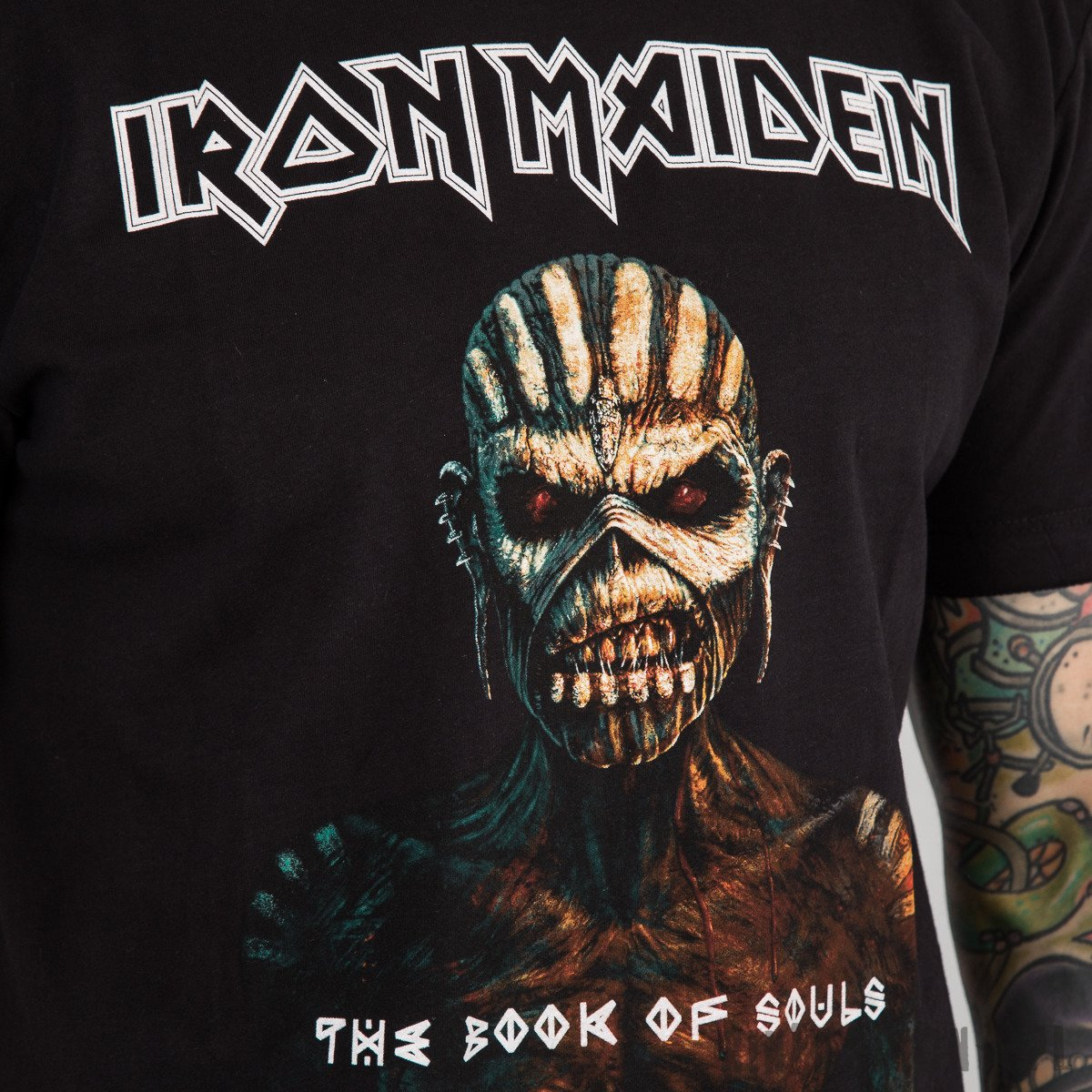KOSZULKA AMPLIFIED - IRON MAIDEN THE BOOK OF SOULS
