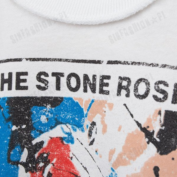 KOSZULKA AMPLIFIED -STONES ROSES ADORED WHT