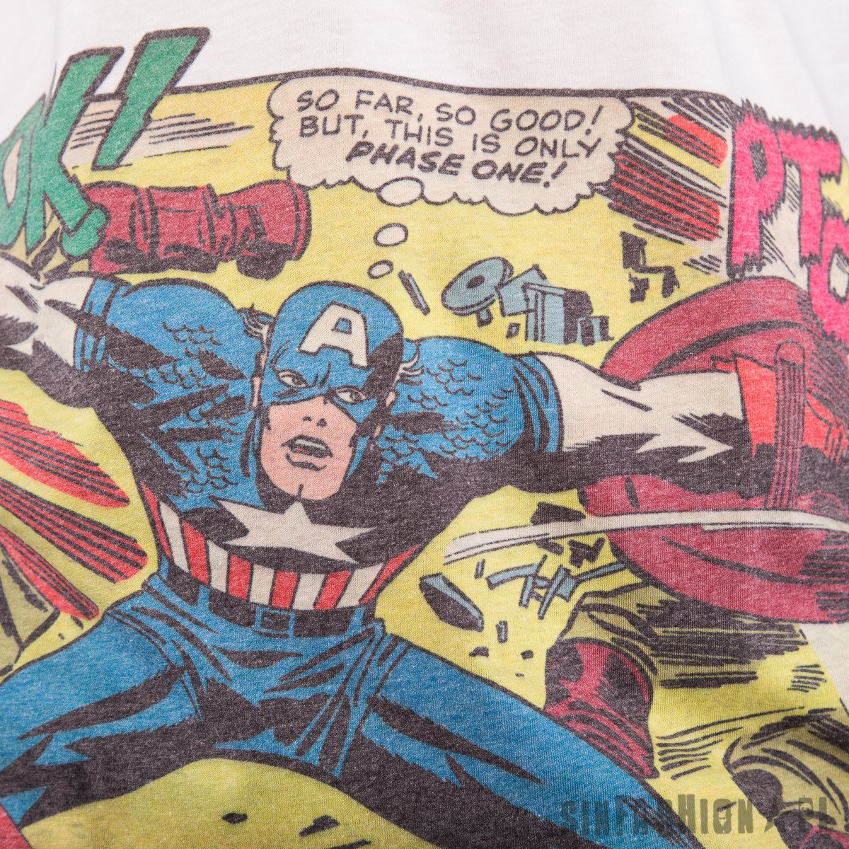 KOSZULKA MARVEL - CAPTAIN AMERICA COMIC POKET