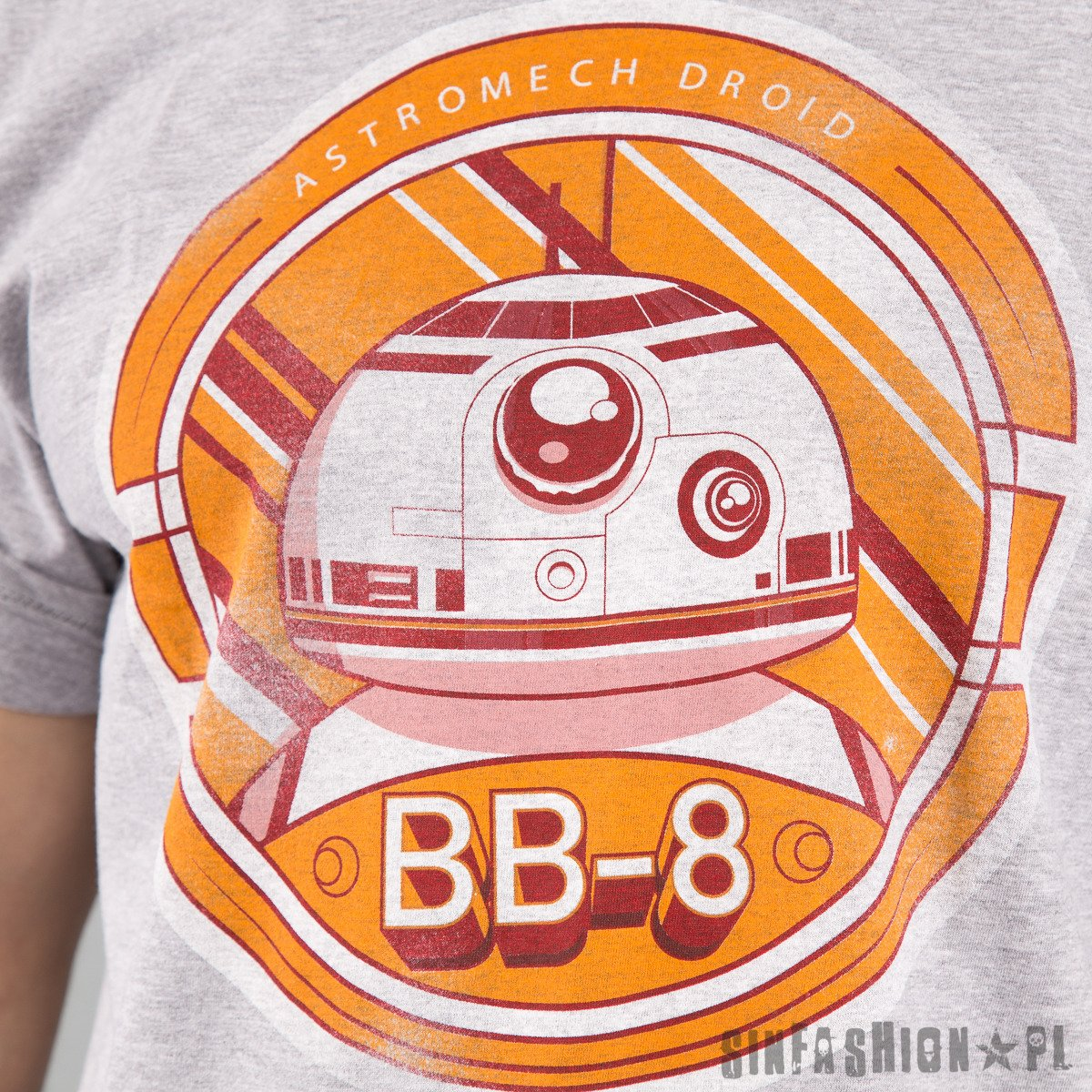 KOSZULKA STAR WARS - BB-8 DISTRES