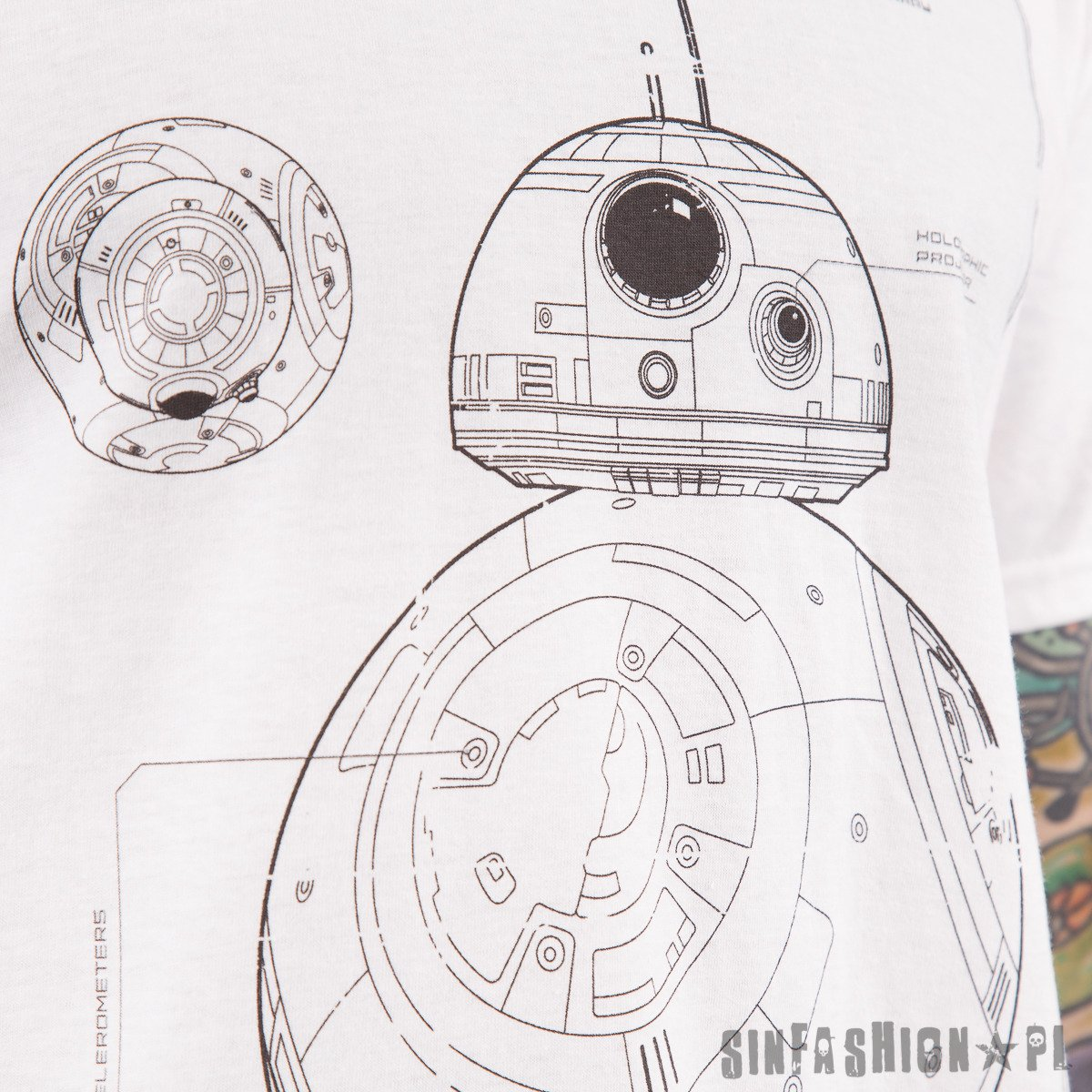 KOSZULKA STAR WARS - BB-8 TECH