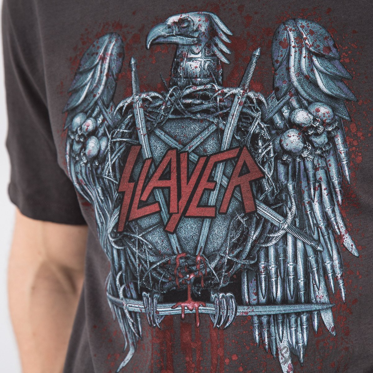 Koszulka Amplified - Slayer Metal Eagle