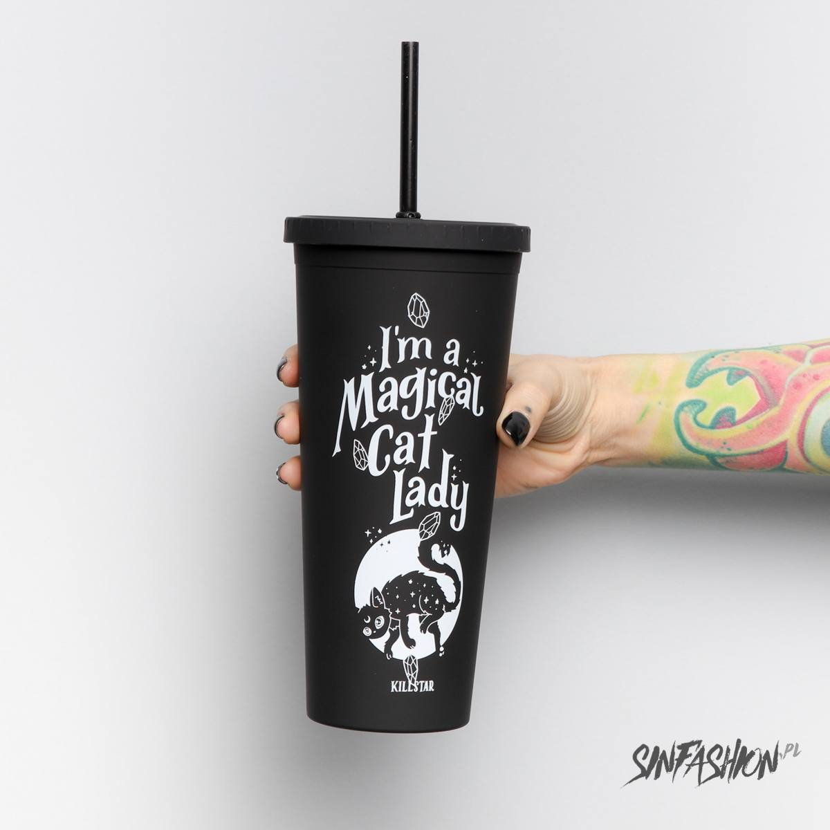 Kubek Killstar Cat Lady Cold brew cup