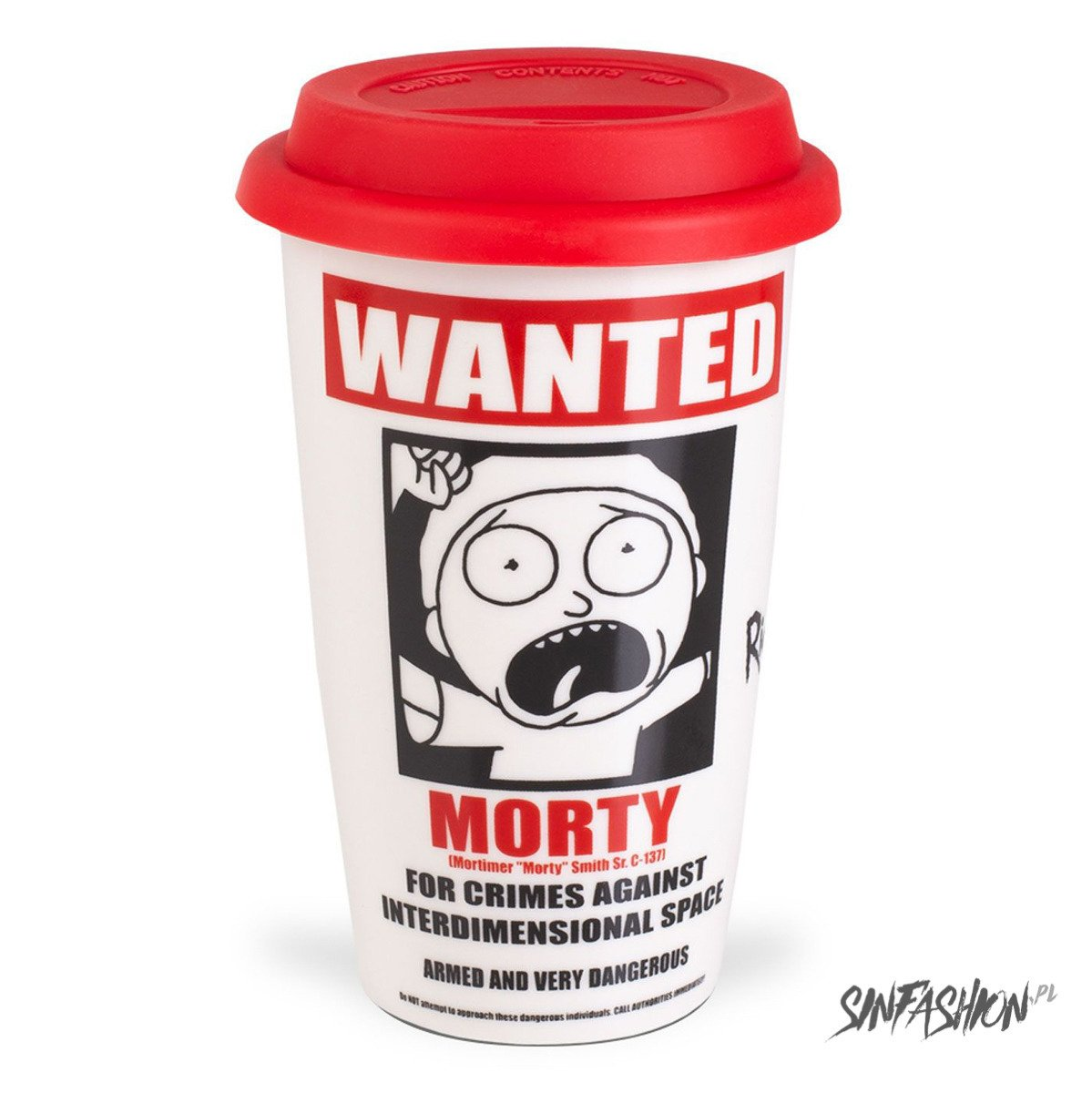 Kubek Podróżny Rick And Morty Wanted