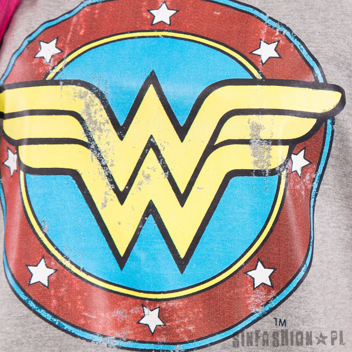 TANK DC - WONDER WOMAN DISTRESSED LOGO