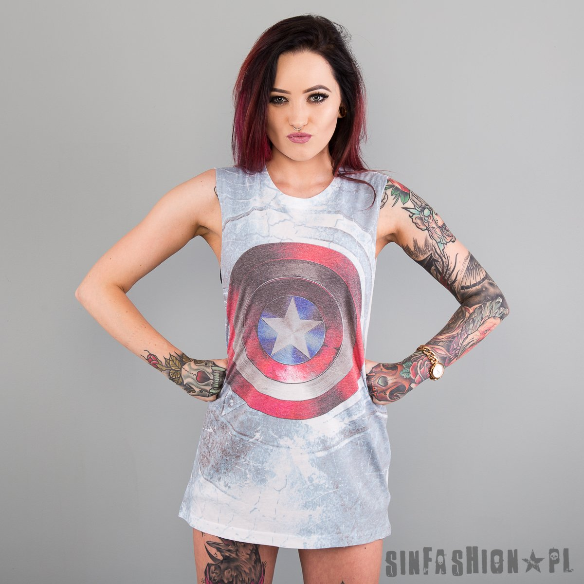 Tank Marvel Captain America Civil War