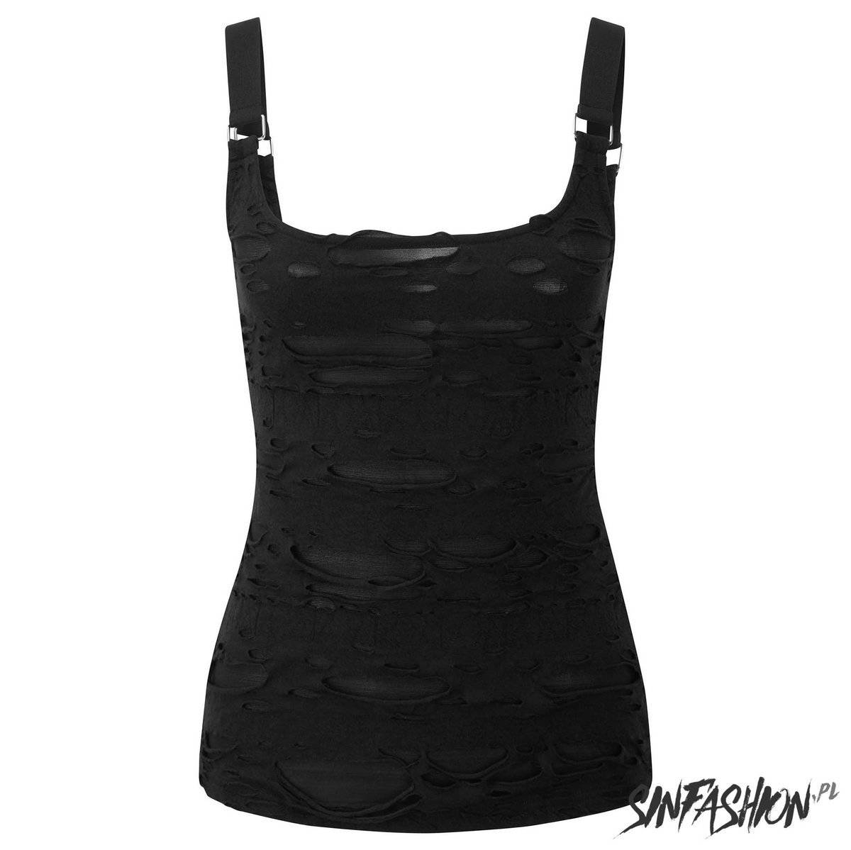Top Killstar Machete Vest Top