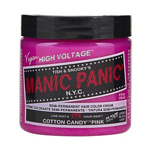 FARBA MANIC PANIC- HIGH VOLTAGE HAIR COLOR COTTON CANDY PINK