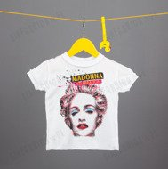 KOSZULKA AMPLIFIED -MADONNA CELEBRATION KIDS WHT